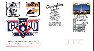1992 Grand Final Cover