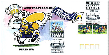 1992 Eagles Premiership cover