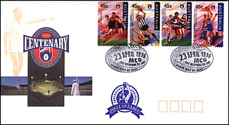 1996 AFL Centenary Hall of Fame Cover