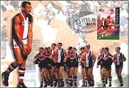 1996 AFL Centenary Maximum Card