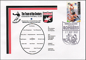 1997 Team of the Century Cover