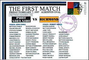 1997 First Practice Match Cover