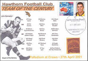 Hawthorn team of th Centenury Cover