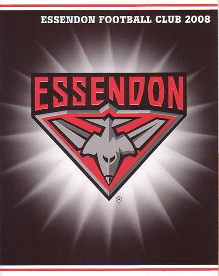 2008 Essendon P stamps