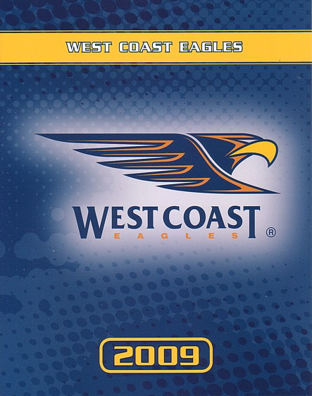 2009 West Coast Eagles P stamps